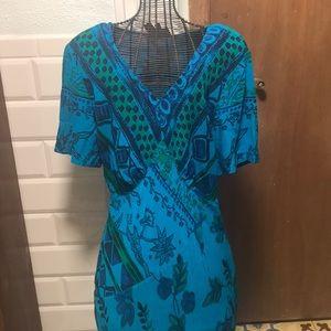 Carole little beautiful long dress size 8